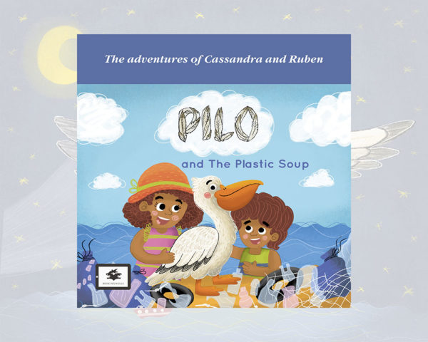 eBook cover for Book Prunelle's Pilo and the plastic soup