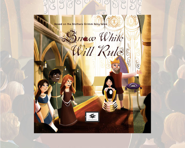 eBook cover for Book Prunelle's Snow White will rule