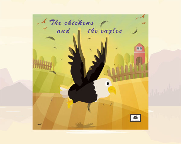 eBook cover for Book Prunelle's The Chickens and the Eagles