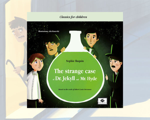 Book cover for Book Prunelle's The strange case of dr. jekyll and mr. hyde