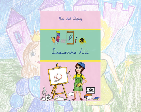 eBook cover for Book Prunelle's Julie Discovers Art