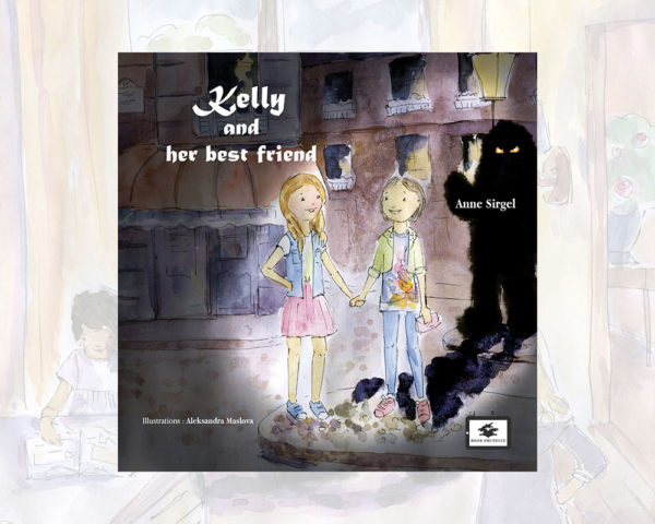eBook cover for Book Prunelle's Kelly and her Best Friend