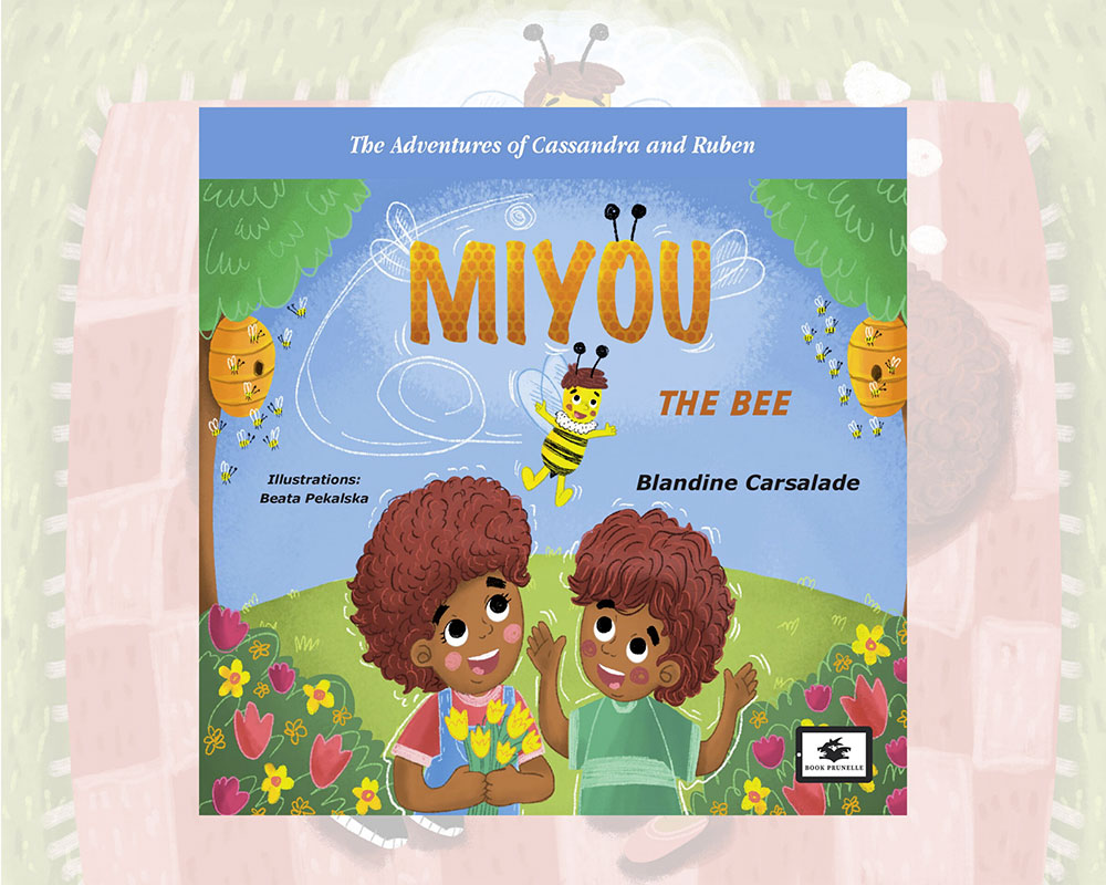 eBook cover for Book Prunelle's Miyou the bee