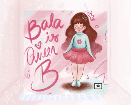 eBook cover for Book Prunelle's Bala is Queen B