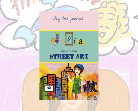 eBook cover for Book Prunelle's Julia Discovers Street Art